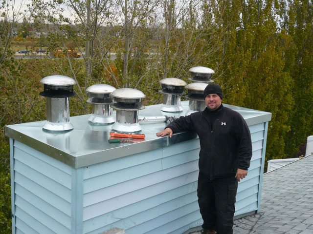 Commercial Top Gun Chimney Service